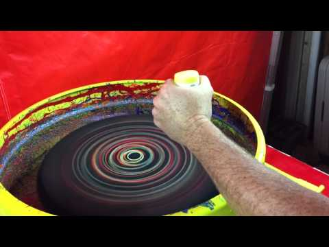 Spin Art T-Shirt Maker California Bay Area Party Rental