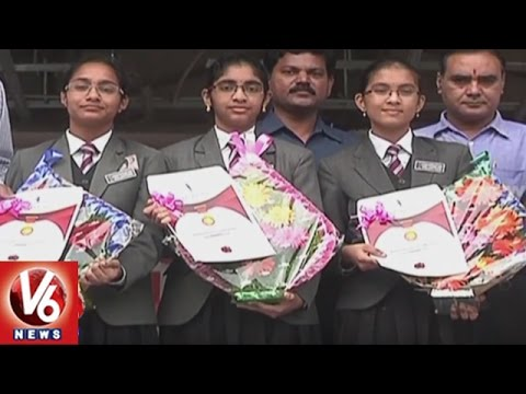 Karimnagar School Students Creates Herbal Hand Sanitizer | V6 News