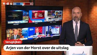 TERUGKIJKEN: Arjen van der Horst praat ons bij over verkiezingen VS