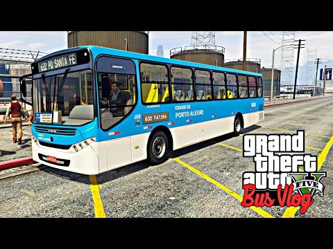 GTA V: BusVlog - Ônibus De Porto Alegre Linha Orla Da Praia #11