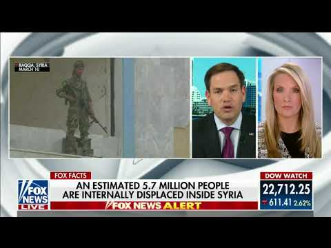 Rubio Joins Dana Perino on Fox News to Discuss Why Withdrawing Troops From Syria is a Grave Mistake