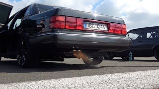 Audi 200 20V Turbo Tuning Launch Sounds