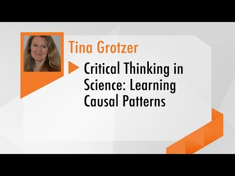 Webinar 4: Critical Thinking in Science: Learning Causal Pat