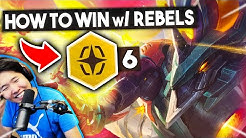 How To WIN w/ 6 REBELS! - DEMOLITIONIST ASOL | TFT Guide 10.9 | Teamfight Tactics Set 3 Galaxies