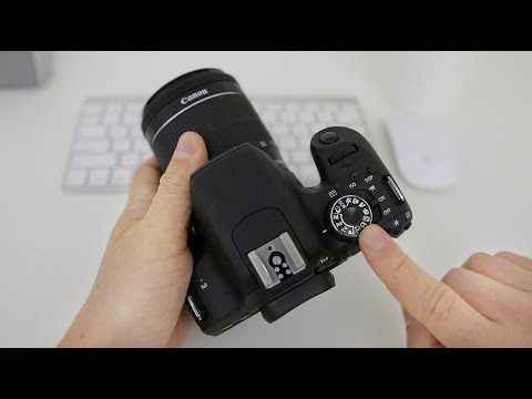 Canon T7i (800D) Tutorial - Beginner's User Guide to the Buttons, Dials &  Settings