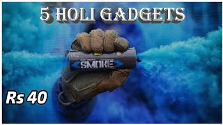 5 Holi Gadgets For This Holi On Amazon | Holi Products 2019