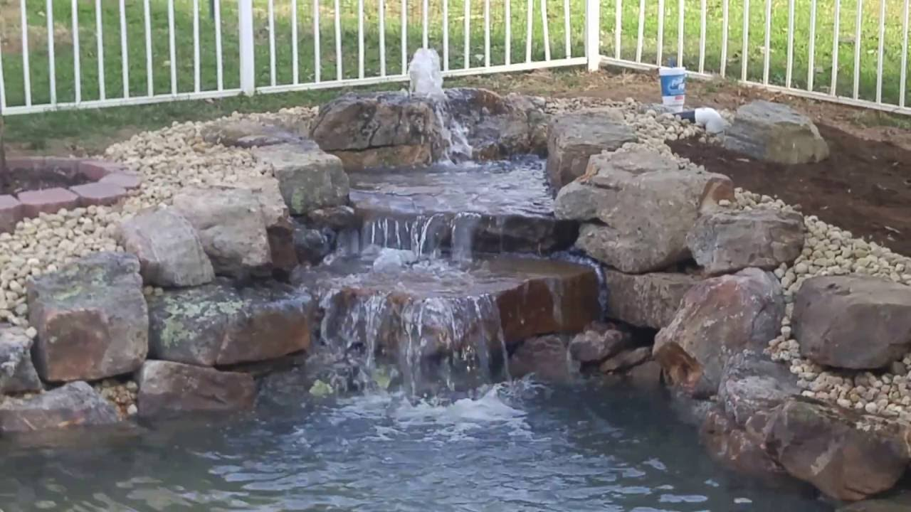 how to choose pond waterfall pumps and pond filters - pond