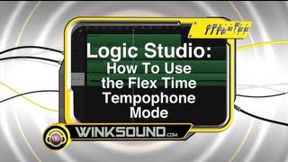 Logic Pro: How To Use the Flex Time Tempophone Mode