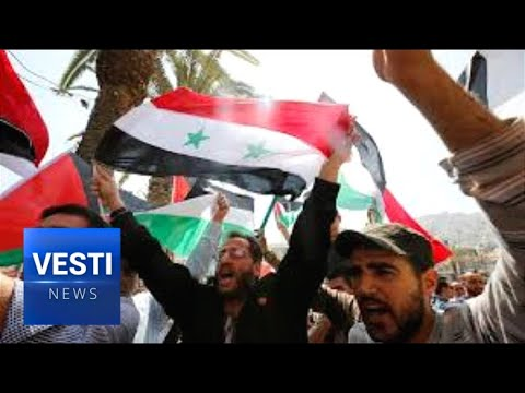 Assad Triumphant: Syrian Army Celebrates Defeat of Combined US, UK, French War Machine