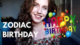 HOW THE ZODIAC SIGNS CELEBRATE THEIR BIRTHDAY | Hannah's Elsewhere
