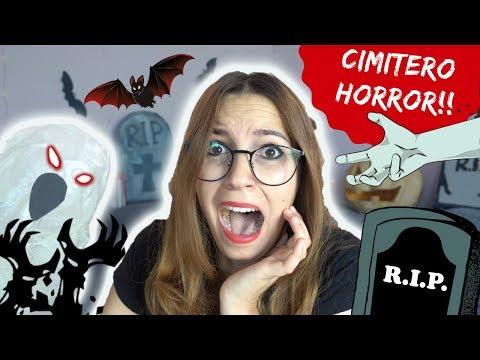 UN CIMITERO DENTRO CASA MIA! *DIY Halloween decorations*
