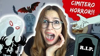 UN CIMITERO DENTRO CASA MIA! *DIY Halloween decorations*