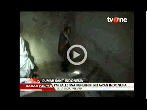 PM Palestina Kunjungi Relawan Indonesia