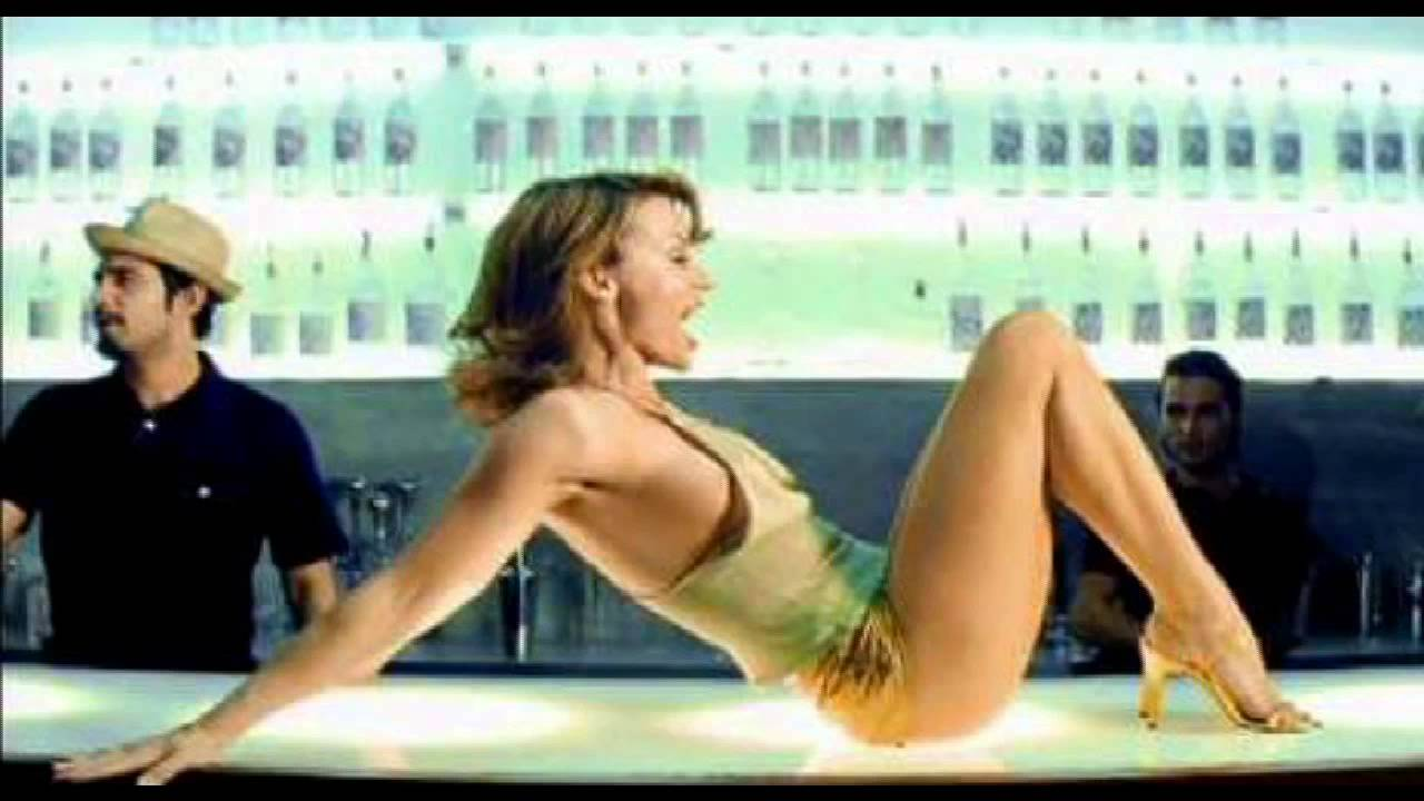 Kylie minogue spinning around