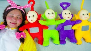 Linda Playing with Teletubbies, Are You Sleeping Brother John