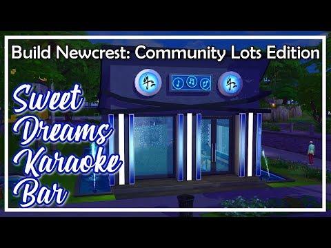 Sweet Dreams Karaoke Bar - The Sims 4 Speed Build