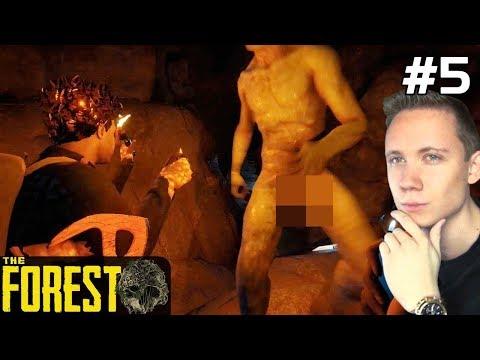 The Forest PL Gameplay [#5] WCHODZIMY do Jaskini Kanibali! /z Paweł