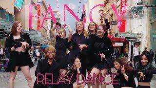 [RELAY DANCE IN PUBLIC] TWICE (트와이스) - FANCY Dance Cover by ABK Crew from Australia