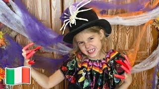 Cinque Bambini Halloween Dolcetto o Scherzetto