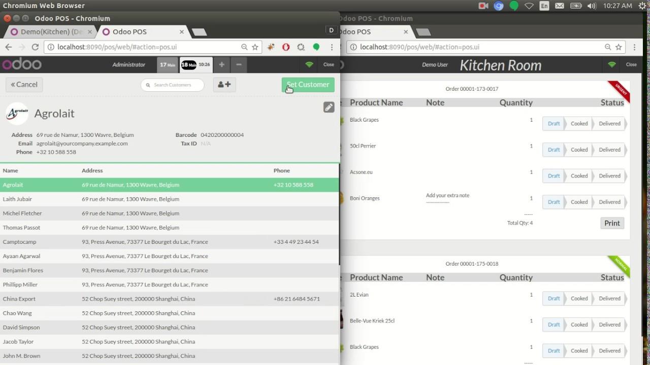 POS Kitchen - YouTube