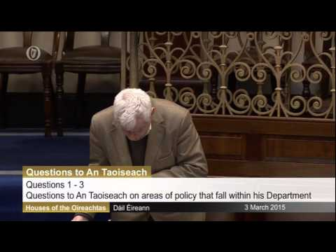 Joe Higgins TD: Ceann Comhairle doesn't allow questions on jailings or non-payment