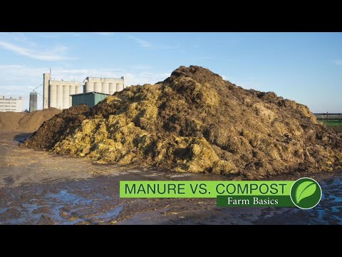 Farm Basics #1063 Manure Vs Compost (Air Date 8-19-18)