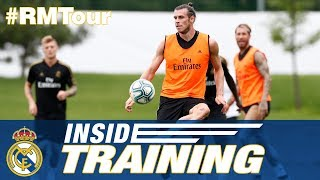 Real Madrid's fifth training day in Montreal!