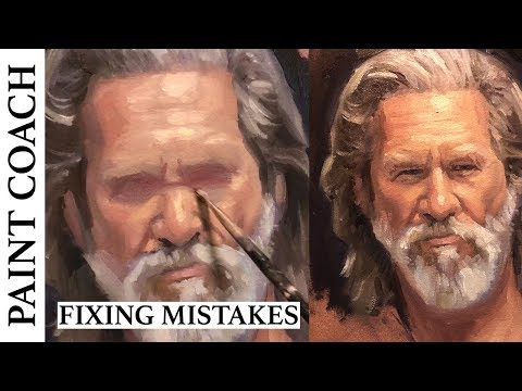 Oil Painting : How To Fix Mistakes