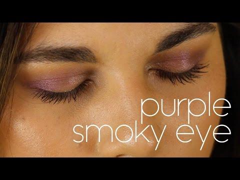 Purple Smoky Eye Tutorial | Charlotte Palmer Evans