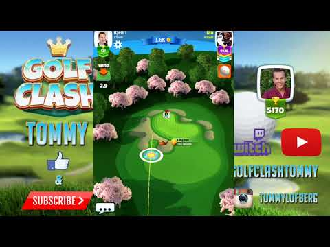 Golf Clash tips, Hole 4 - Par 3 - Touchdown Tournament - ROOKIE, GUIDE/TUTORIAL