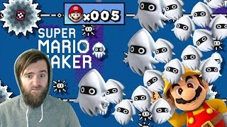 100 Mario // Using Only 5 Lives Expert Challenge [#01] - Super Mario Maker