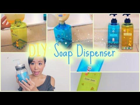 DIY Soap Dispenser - 2 Easy & Fun Deco Projects!