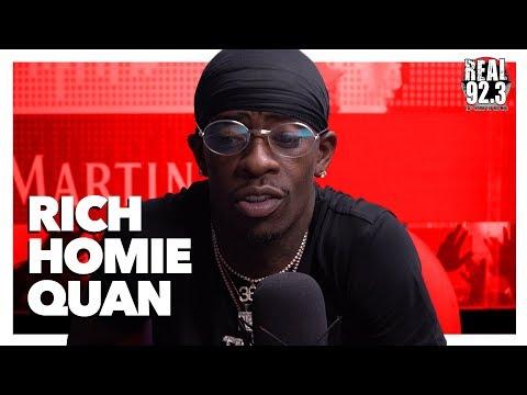Rich Homie Quan Talks New Album 'Rich As In Spirit', Young Thug, His Hiatus & More!