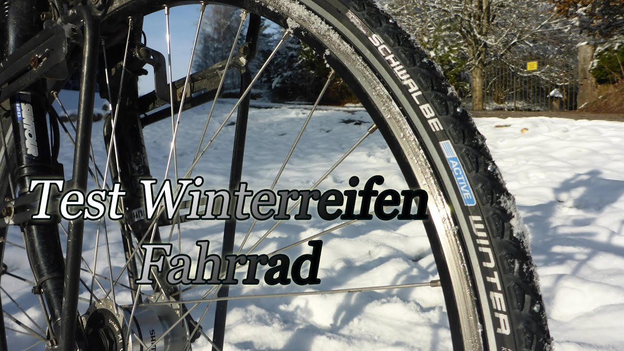 test winterreifen fahrrad youtube. Black Bedroom Furniture Sets. Home Design Ideas