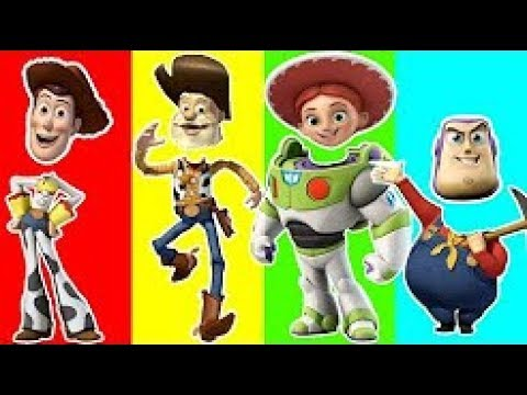 Thumbnail: Learn Colors with Toy Story - Learning Colors Animation for Baby Children Toddler Fun Zone