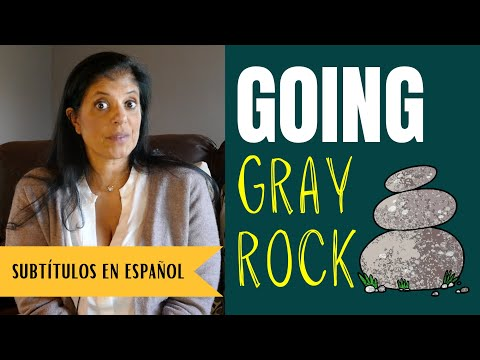 """What happens when you go """"gray rock""""?"""
