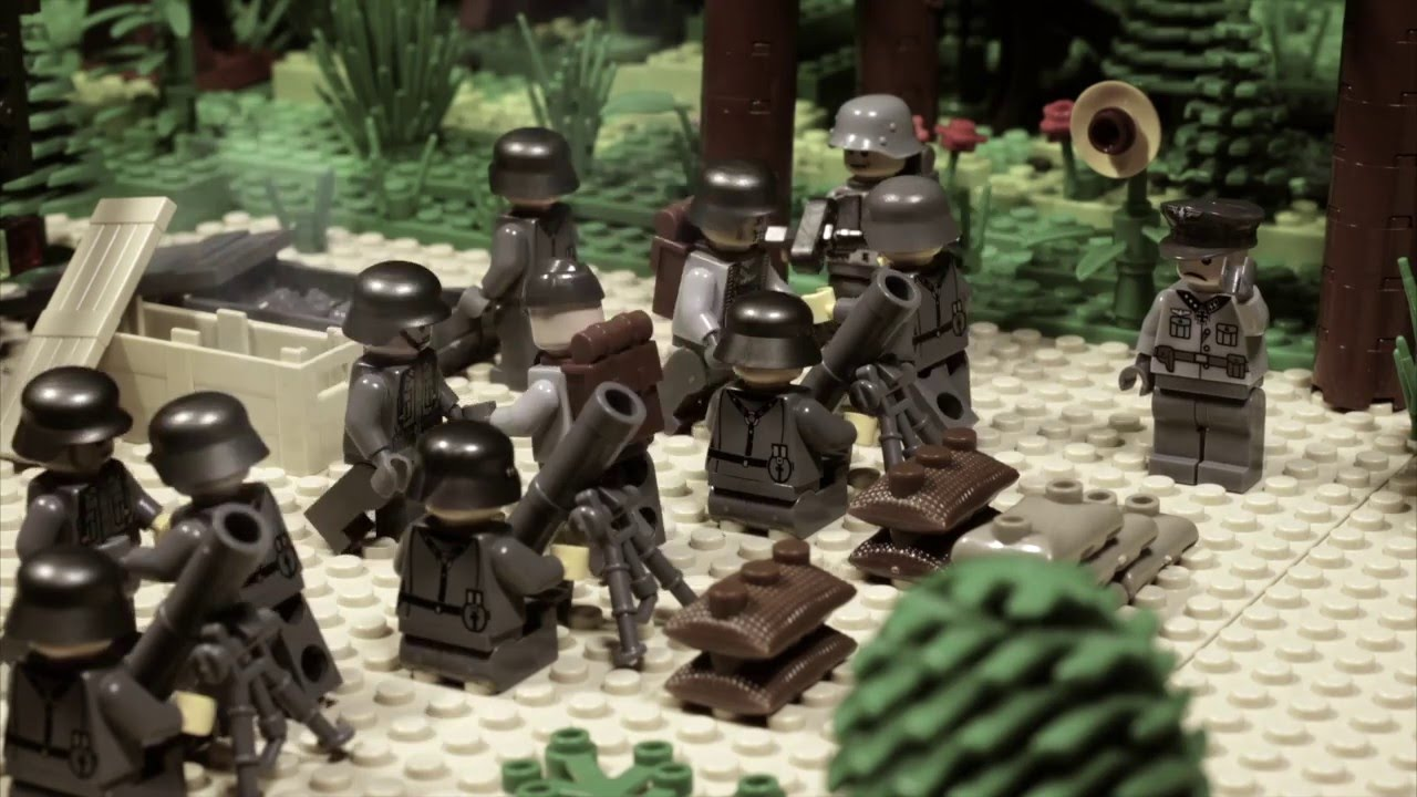 Download LEGO WW2 STOPMOTION Battle for Brest fortress