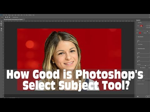 Is the New AI Based Photoshop Select Subject Tool any Good?