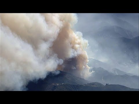 Fire Is One Of Largest Ever In Los Angeles County