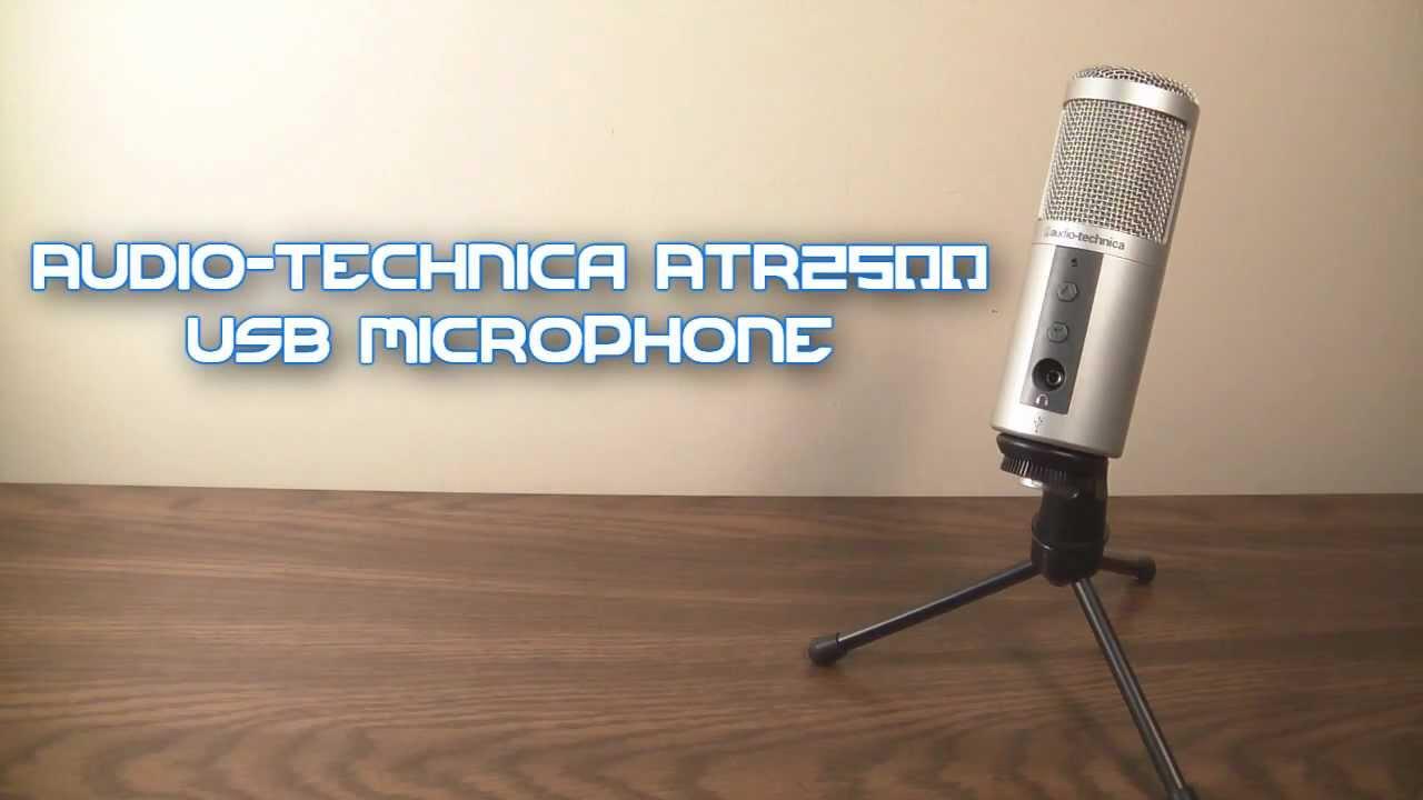 Audio technica atr2500 usb driver