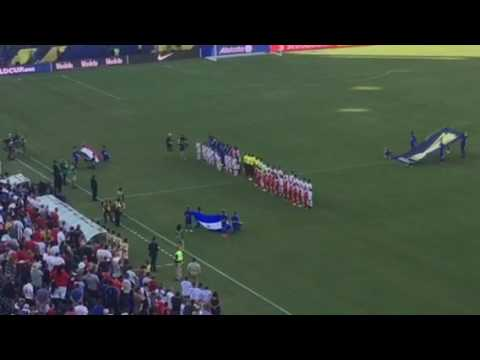Martinique v. Nicaragua - French national anthem 2017 CONCACAF Gold Cup