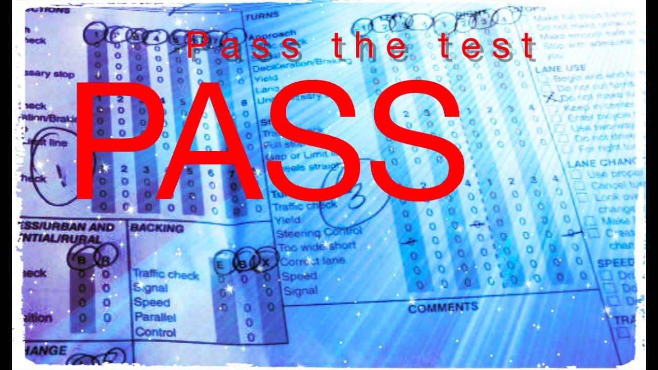 How to pass DMV written test 2017 [California] Working Method ...