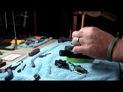 SR pistol detail strip