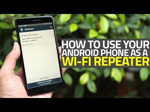 How To Use Your Android Phone As A Wi-Fi Repeater