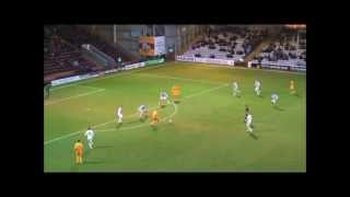 Henrik Ojamaa highlights for Motherwell FC