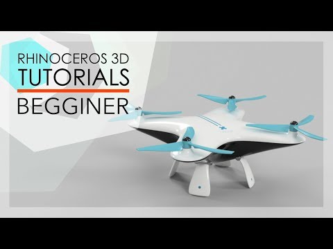 RHINO TUTORIALS  - DRONE - BEGGINER