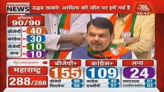 Maharashtra Results: नतीजों पर बोले Fadnavis, Shivsena से जो तय हुआ है वही होगा