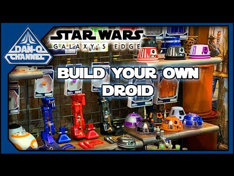 How to Build a Droid at Star Wars Galaxy's Edge - Droid Depot Merchandise