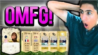 FIFA 15 - I GOT A LEGEND IN A PACK! - (FIFA 15 ULTIMATE TEAM PACK OPENING)