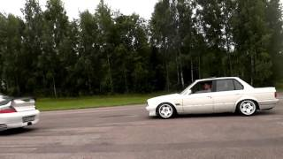Bmw E30 Vs  Nissan Gt R 35 Vs  Porsche 911 Turbo